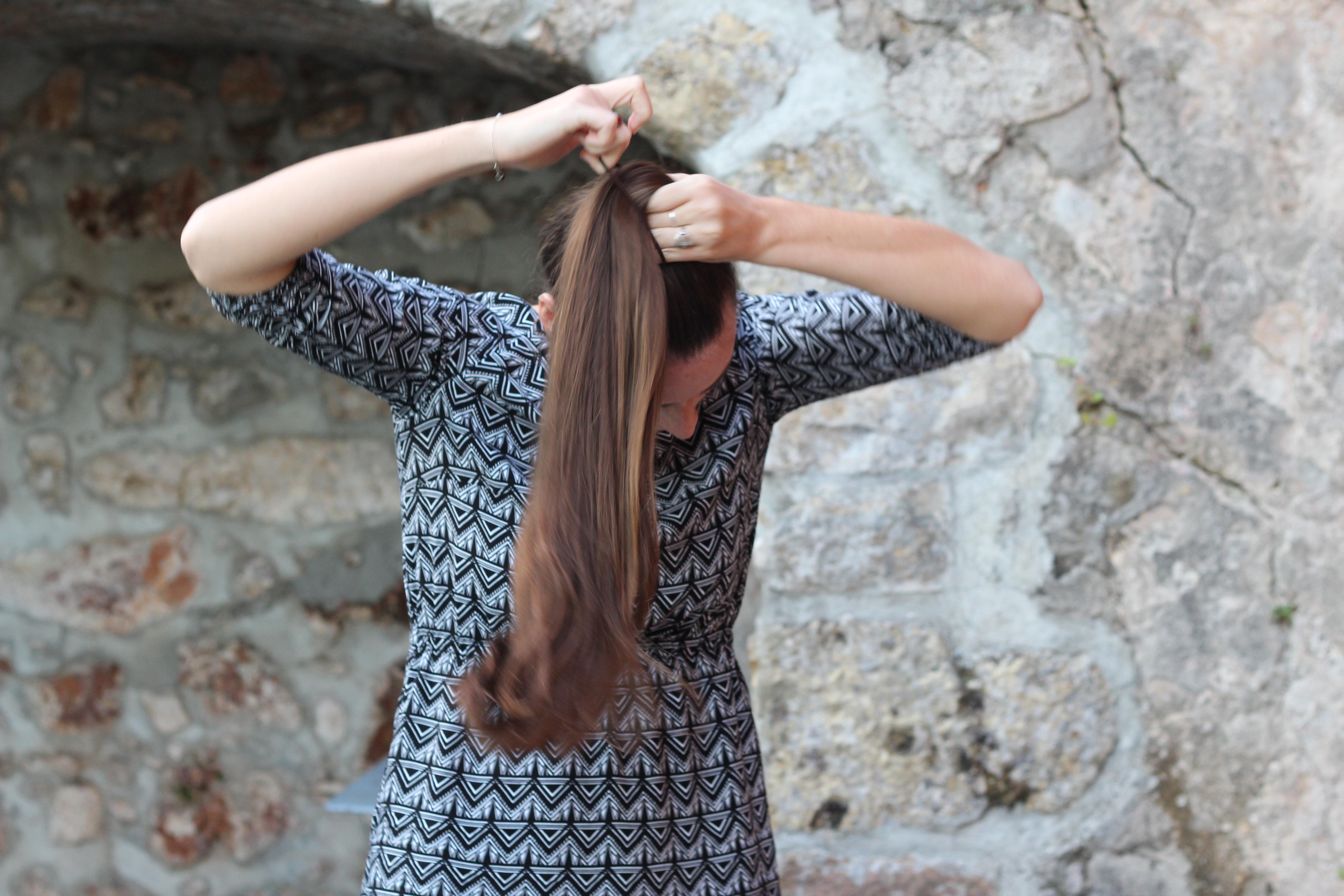 Couper ses cheveux soi meme degrade long | Coiffures populaires